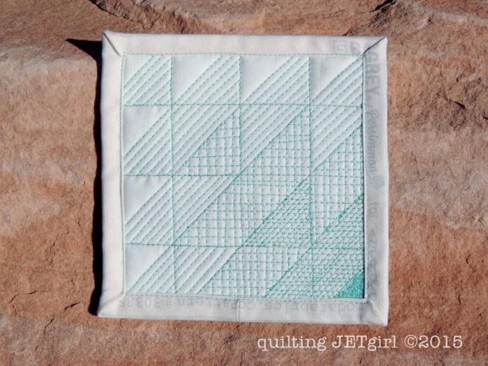 Mini Mini Quilt for Jenn @A Quarter Inch from the Edge
