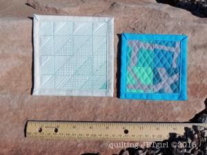 Mini Mini Quilts 21 & 22