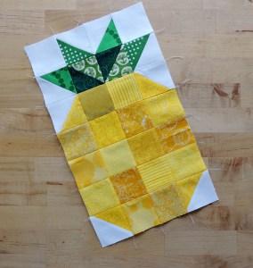 January 2016 Hive 1 - Pineapple Block