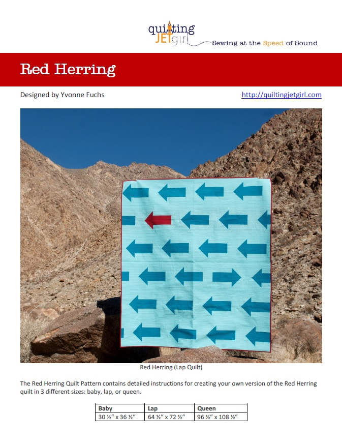Red Herring Pattern Cover