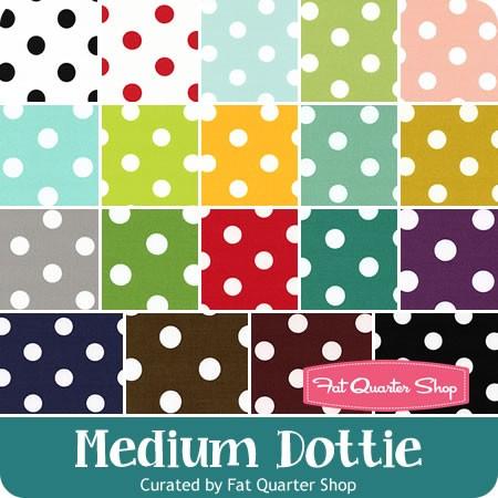 Medium Dottie Fat Quarter Bundle Curated by Fat Quarter Shop