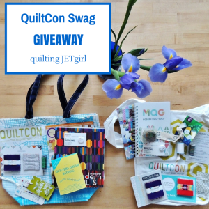 QuiltCon Swag