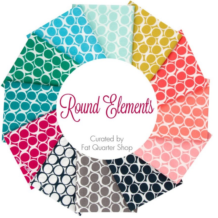 Round Elements Fat Quarter Bundle Curated by Fat Quarter Shop