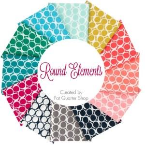 Round Elements Fat Quarter Bundle Curated by Fat Quarter Shop
