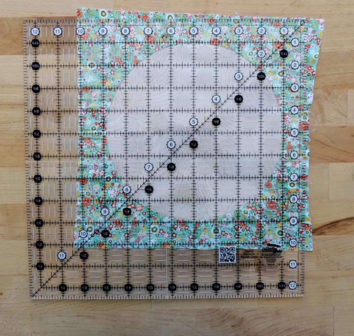 Sewing Full Circles: Trim to Size