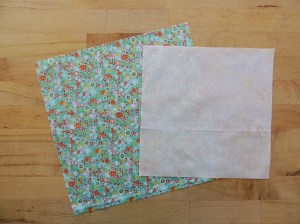 Sewing Full Circles: Prepare Fabric