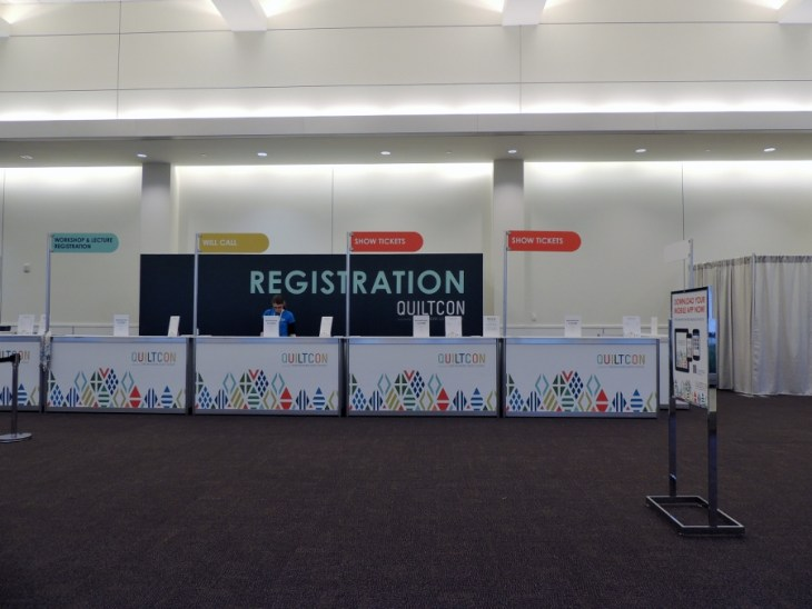 Registration Desk: The Calm Before Opening