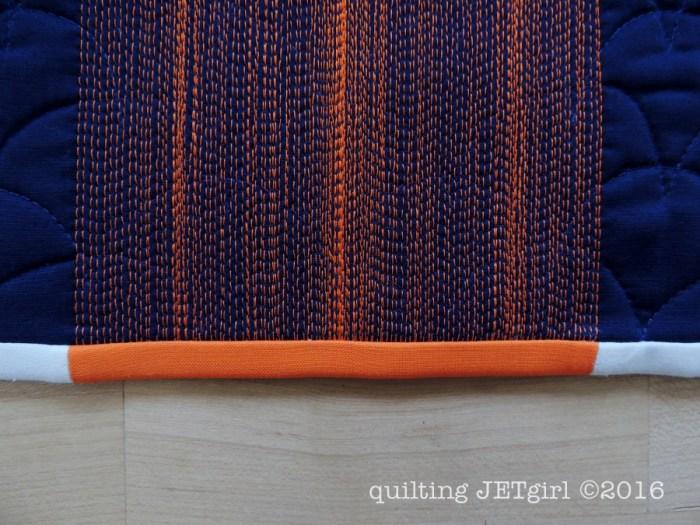 Beacon Quilt Binding Detail
