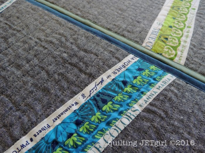 Modern Selvage Quilting Placemats