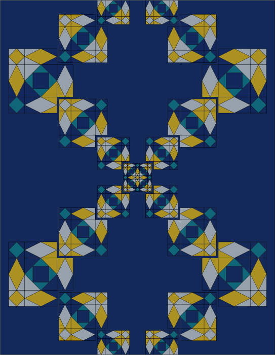 Blue Moon Quilters Final Colored Design