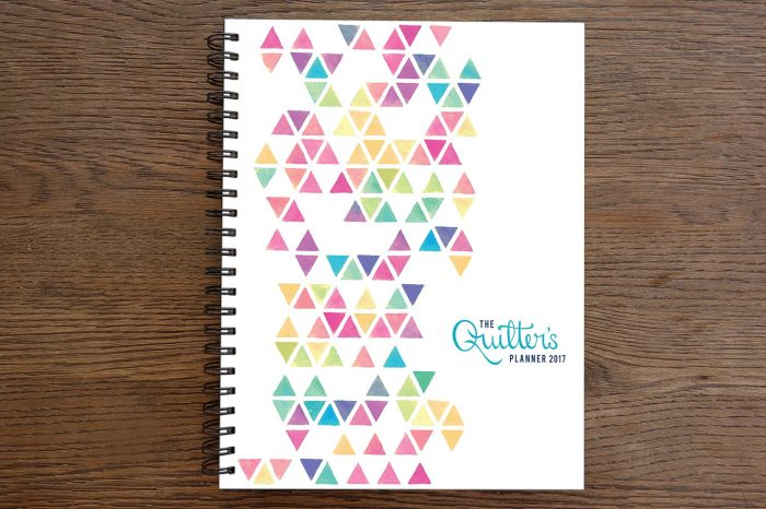 2017 Quilters Planner