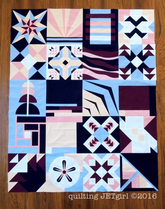 2016 Paintbrush Studio New Block Charity Quilt