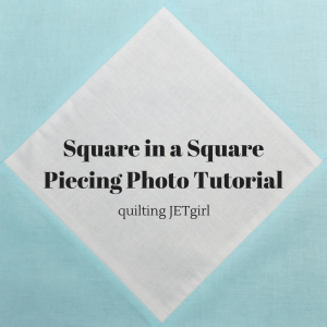 Square in a SquarePiecing Photo Tutorial