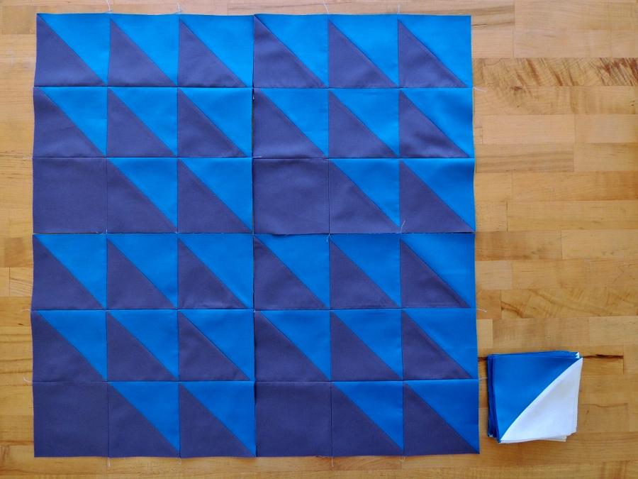 Meadow Mystery Quilt - September Blocks