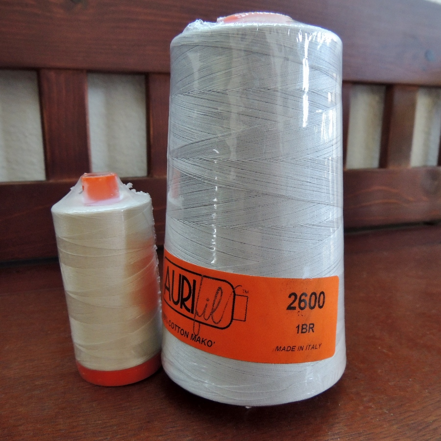 Aurifil Large Spool and Cone