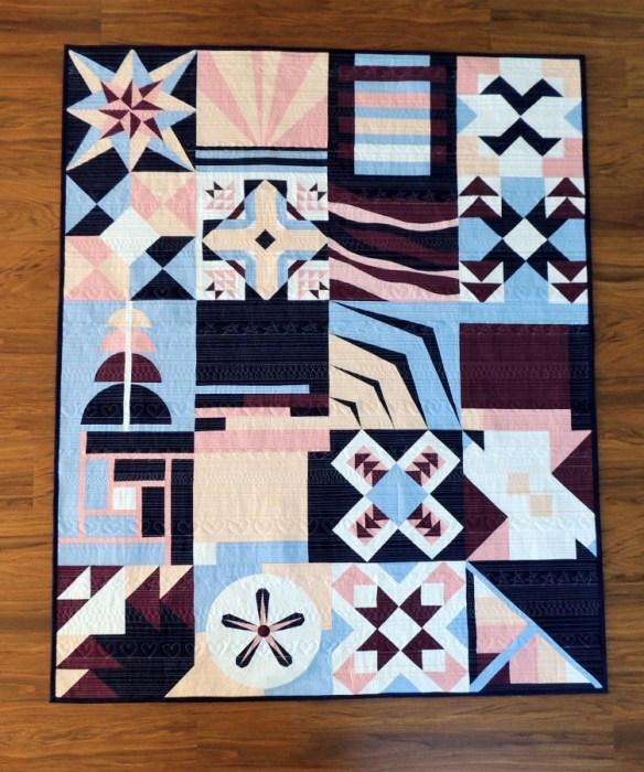 Paintbrush Studio New Block Quilt - Pre-Wash