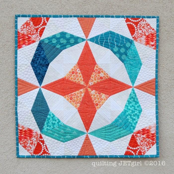 Kaleidoscope Mini Quilt