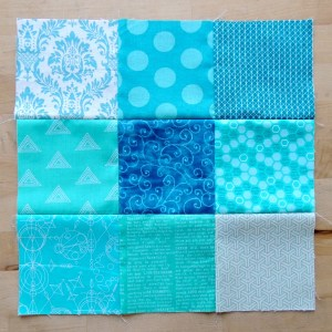October Stash Bee Block - Green