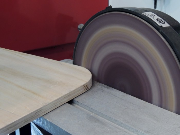 Step 8 - Sand Edges of Plywood