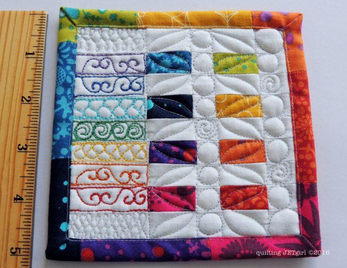 Alison Glass Mini Mini Quilt