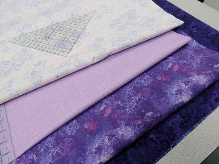 Student 3 - Fabric Selection