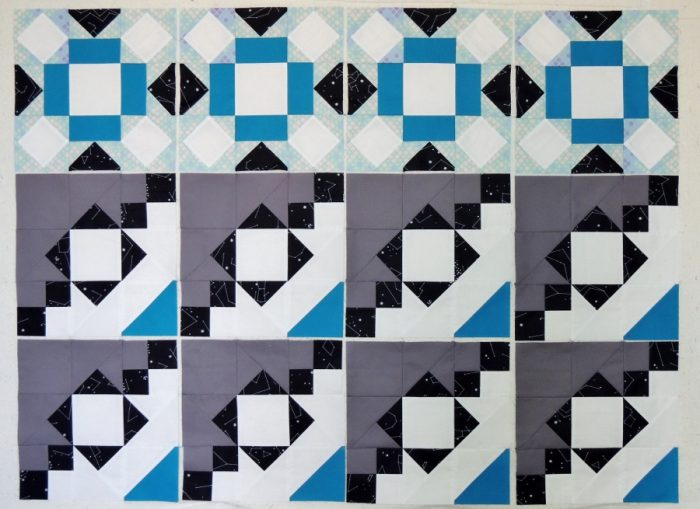 Meadow Mystery Quilt - January Blocks