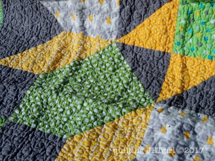 Baby Carter Lucent Quilt - Quilting Detail