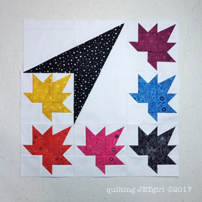 Freefall QAL - Blocks from Second Set of Piecing Instructions