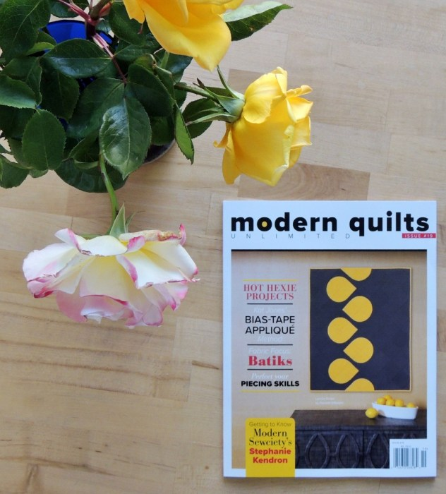 Modern Quilts Unlimited Issue 19