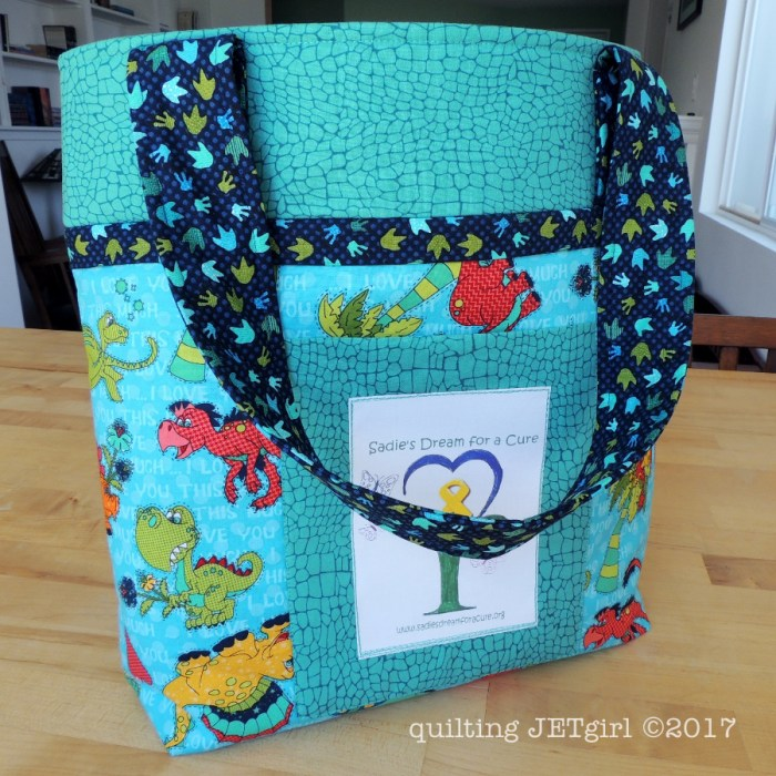 Busy Bag for Sadie's Dream for a Cure