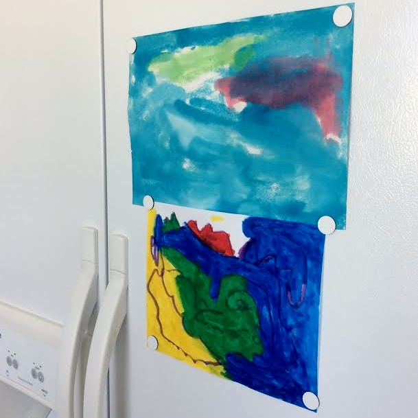 Refridgerator Art