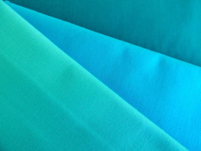Painter's Palette Solids - Paul Aqua, Cyan, and Gulfstream