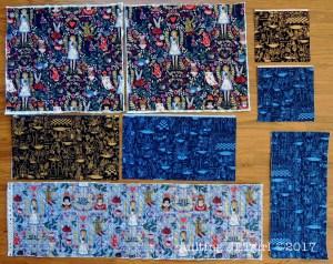 Quilted Weekender Bag Panels