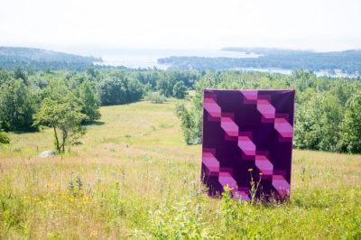 Transparent Ribbons - Quilt Photography by Kitty from Night Quilter