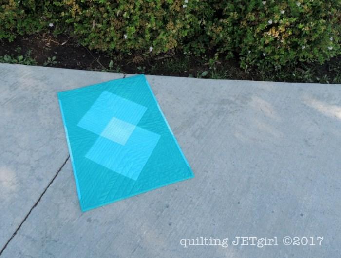 Single Burst Mini Quilt