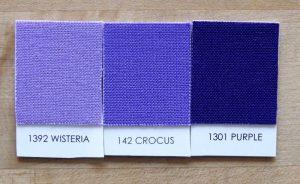 Kona Wisteria, Crocus, and Purple