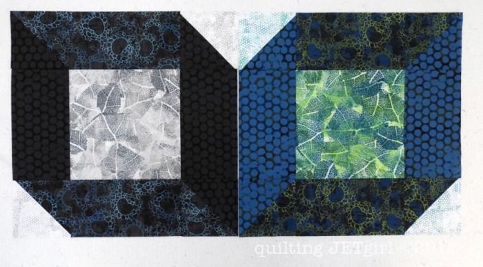 Star Cube in Urban Garden - Two Quadrants