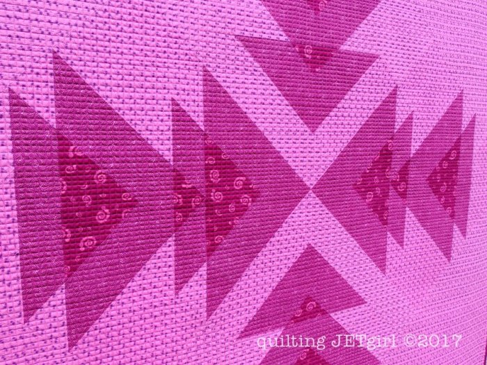 Wayward Transparency - Quilting Detail