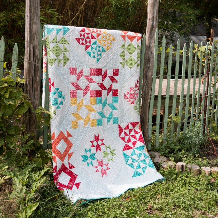 The Clementine Quilt, featuring Mama's Cottage by April Rosenthal!