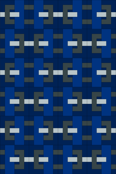 Clasp Quilt - Dark Colorway