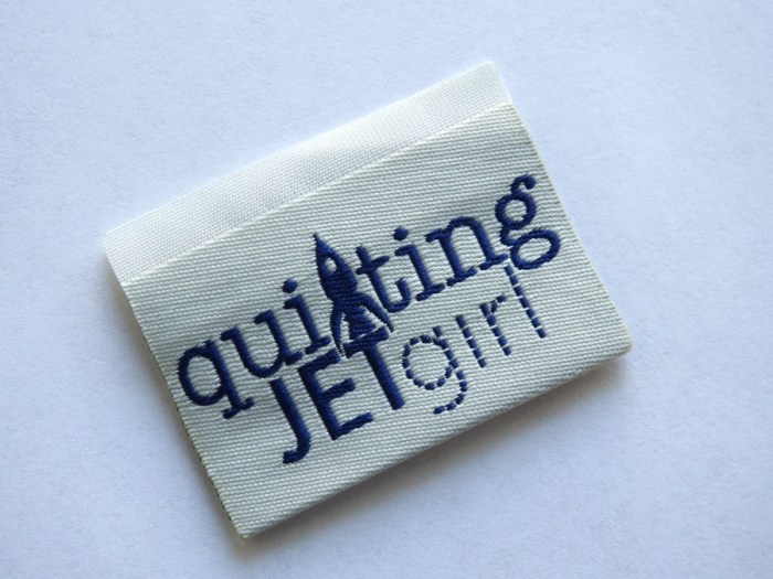 Quilting Jetgirl Dutch Label Shop Woven Label