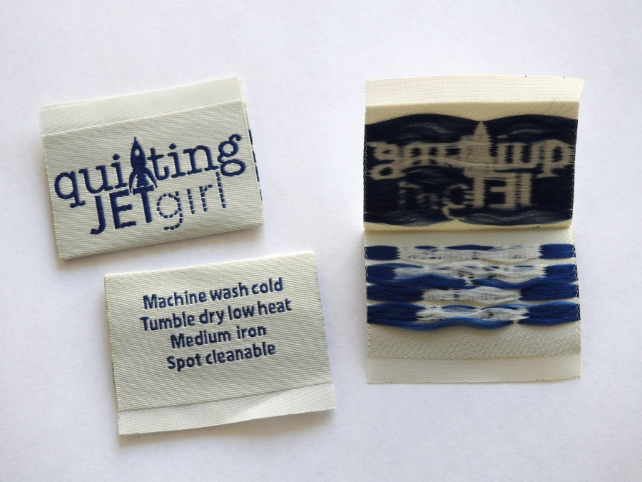 Quliting Jetgirl Dutch Label Shop Woven Labels