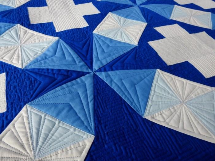 Kaleidoscope Plus - Prewash Quilting Detail