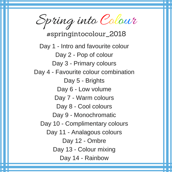 Spring Into Colour Prompts