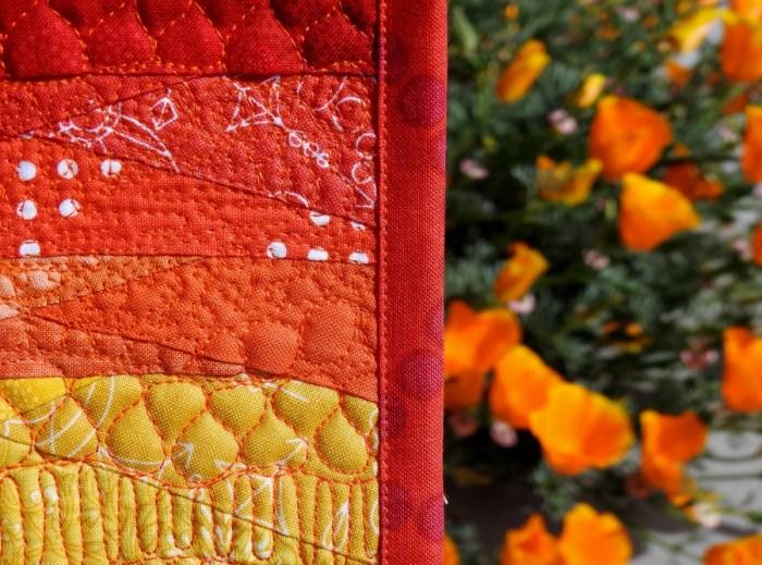 Sunset Mini Mini Quilt