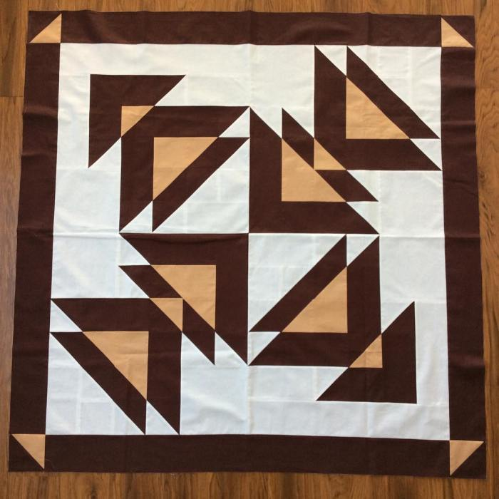 Wayward Transparency Quilting for a Friend