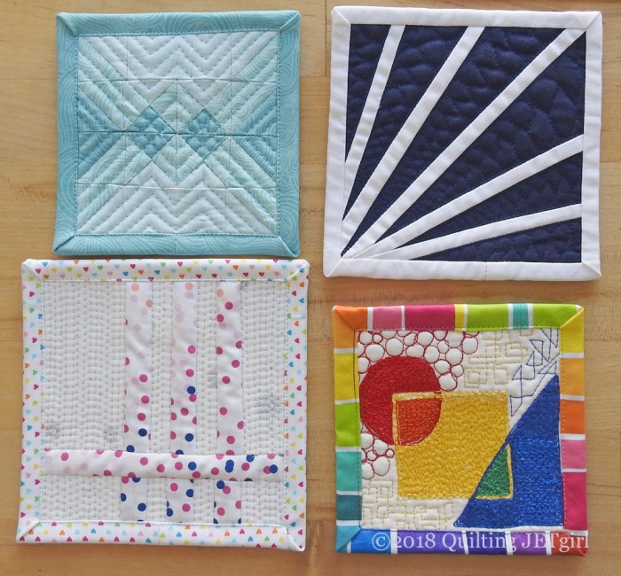 June Patreon Mini Mini Quilts