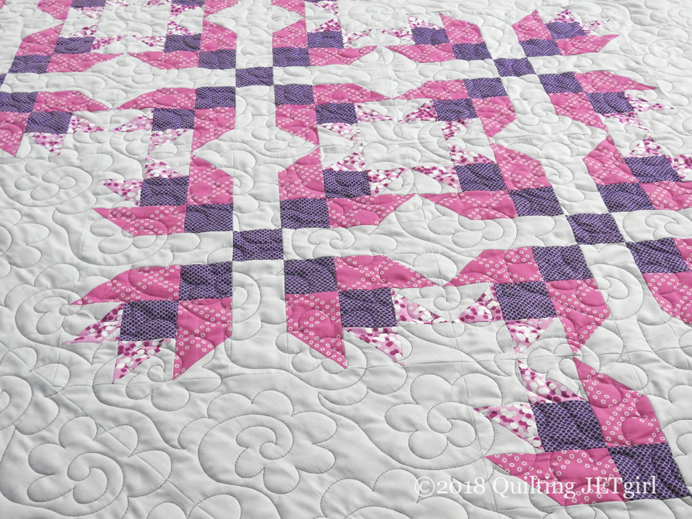 Magnolia Mystery Quilt Finish!