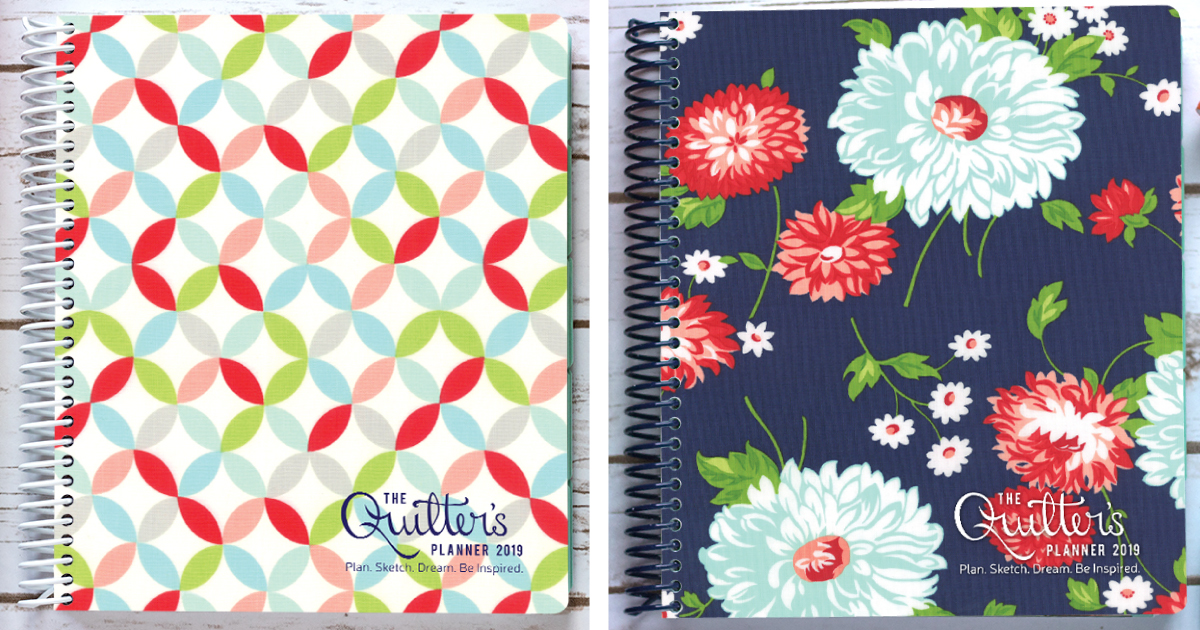2019 Quilter's Planner {Pre-Sales Kickoff!}