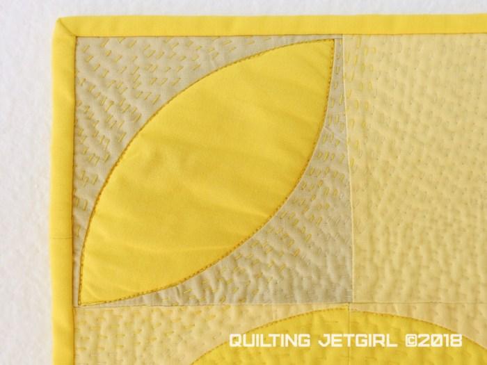 Babsie {Mini Quilt Detail}